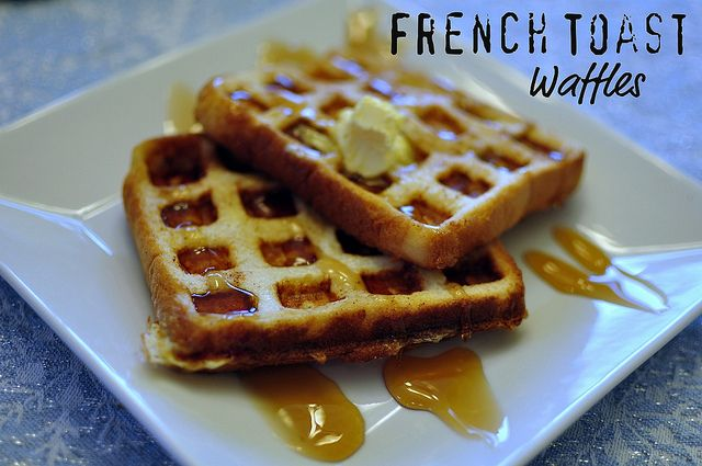French toast waffles | Yummo Breakfasts | Pinterest