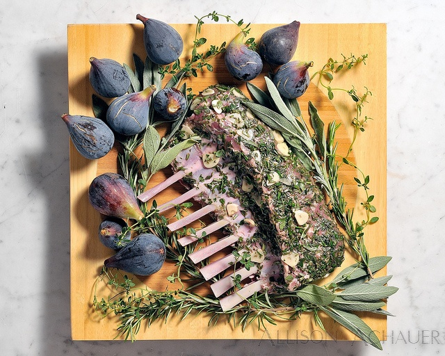 Rack of Lamb, Figs and Herbs | Figs, Figs & Figs | Pinterest