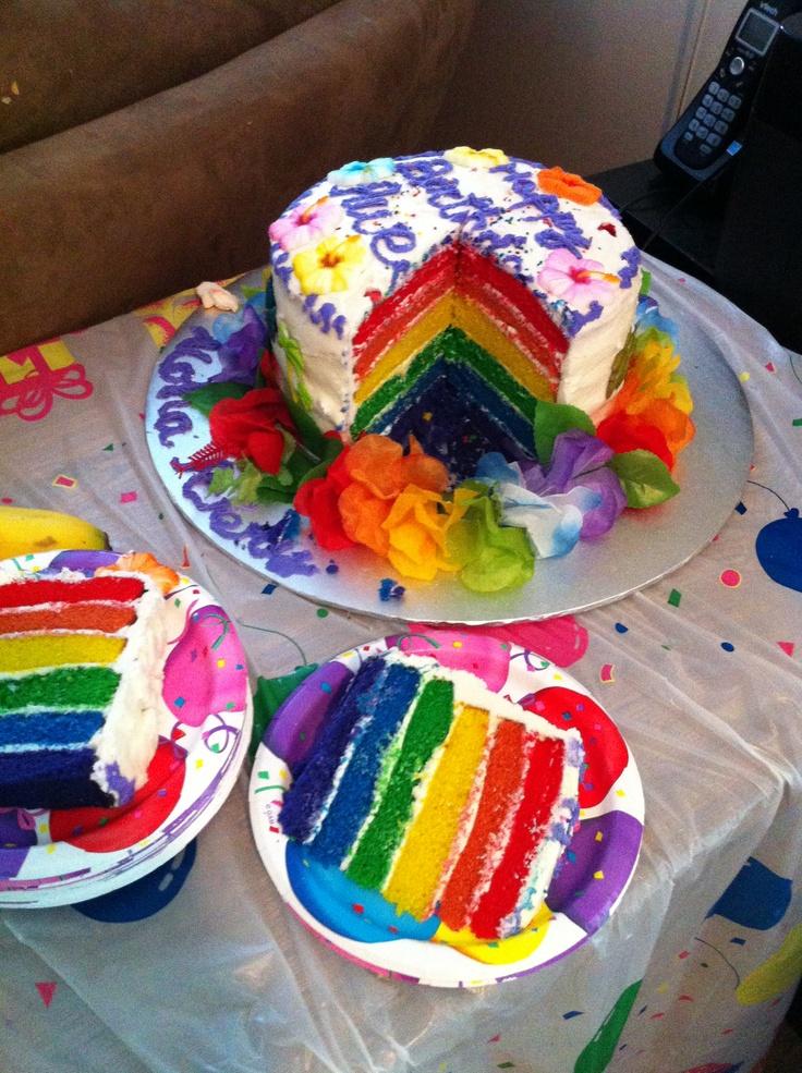 Rainbow Cake Honolulu