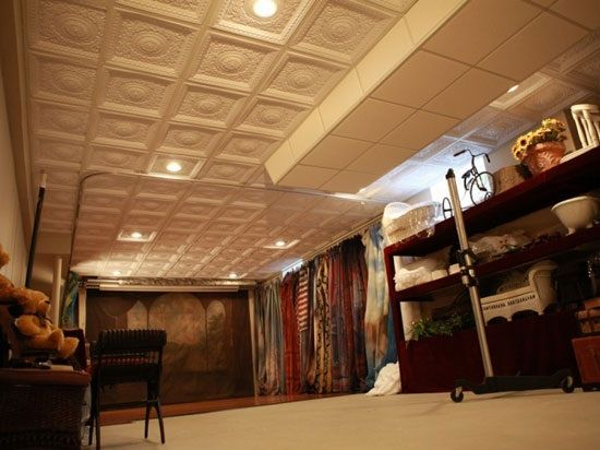 Creative DIY Renovation Ideas Using Ceiling Tiles