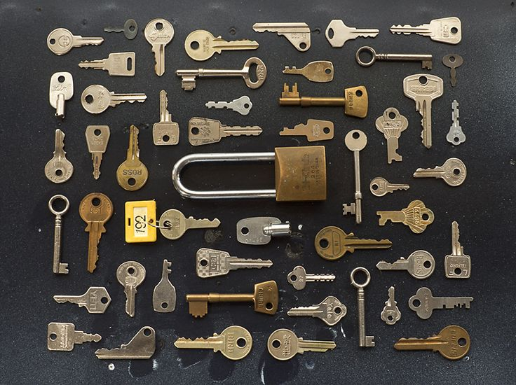 SUBMISSION: Photograph of old keys for an article on security in issue 20 of I, Science magazine. Magazine: I, Science. Photo: Peter Larkin