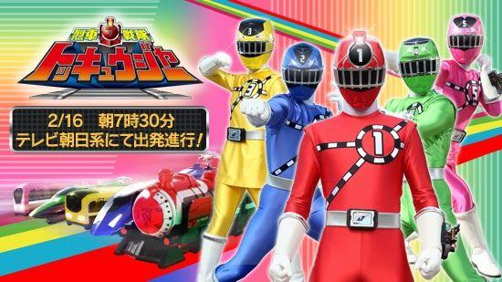 Phim 5 Anh Em Siêu Nhân  Ressha Sentai Toqger