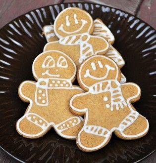 Pumpkin gingerbread cookies | Cookies | Pinterest