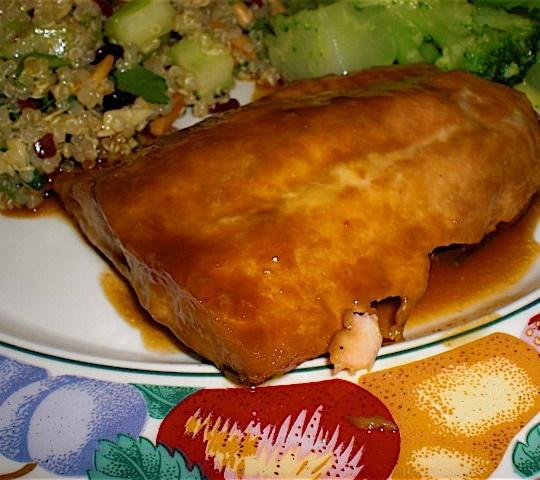 Honey-Soy Glazed Salmon With Bok Choy Recipes — Dishmaps