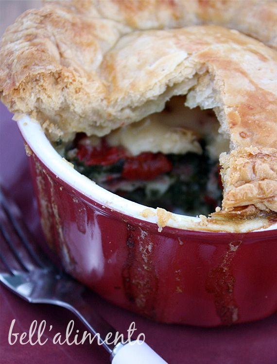 "Torta Rustica - savory ""pot"" pie, Italian style"