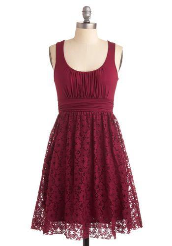 Raspberry Iced Tea Dress