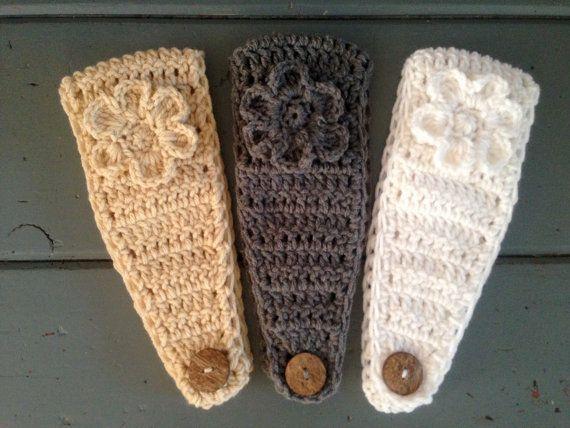 Womens Crochet Ear Warmer Crochet Earwarmer Headband Head ...