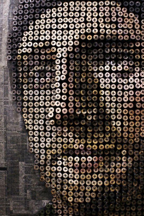 Curiosities: Screwy Portraits
