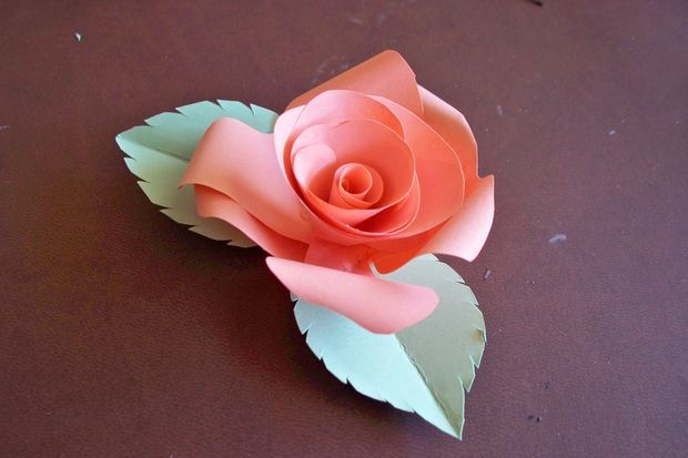 how to make paper flowers instructions