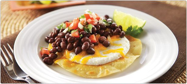Recipes] Huevos Rancheros – 225 calories, 21g protein, 9.5g fiber ...