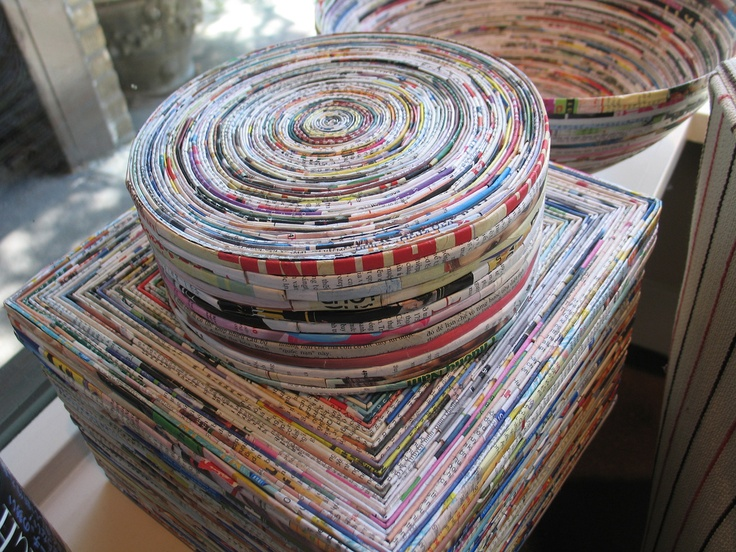 Rolled magazine paper crafts 28 images 10 diy rolled for Rolled magazine paper crafts
