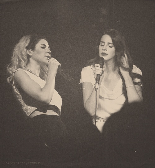lana del rey and marina amp the diamonds f a m o u s