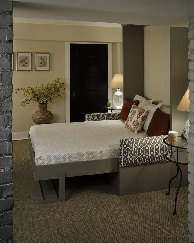 Murphy bed/couch combo.  new house  Pinterest