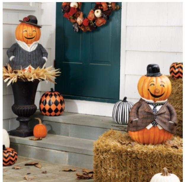 Adorable porch decorations  halloween  Pinterest