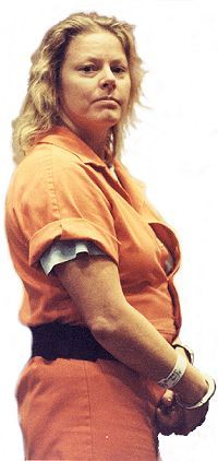 Aileen Carol Wuornos    She was a prostitute who admitted to killing six middle-aged men in 1989 and 1990, luring some of them by posing as a stranded motorist in the Central Florida area. After trials involving her detailed confession, pleas of self-defense, prosecuting testimony by her lesbian lover, and occasional abusive outbursts towards the jury, Wuornos was convicted and sentenced to death. Appeals over the next 10 years were finally stopped at her request, and she was executed by lethal