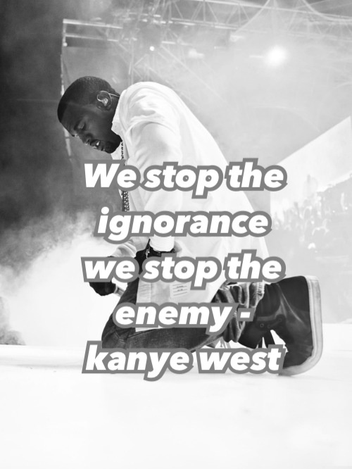 kanye west quotes from songs - photo #4