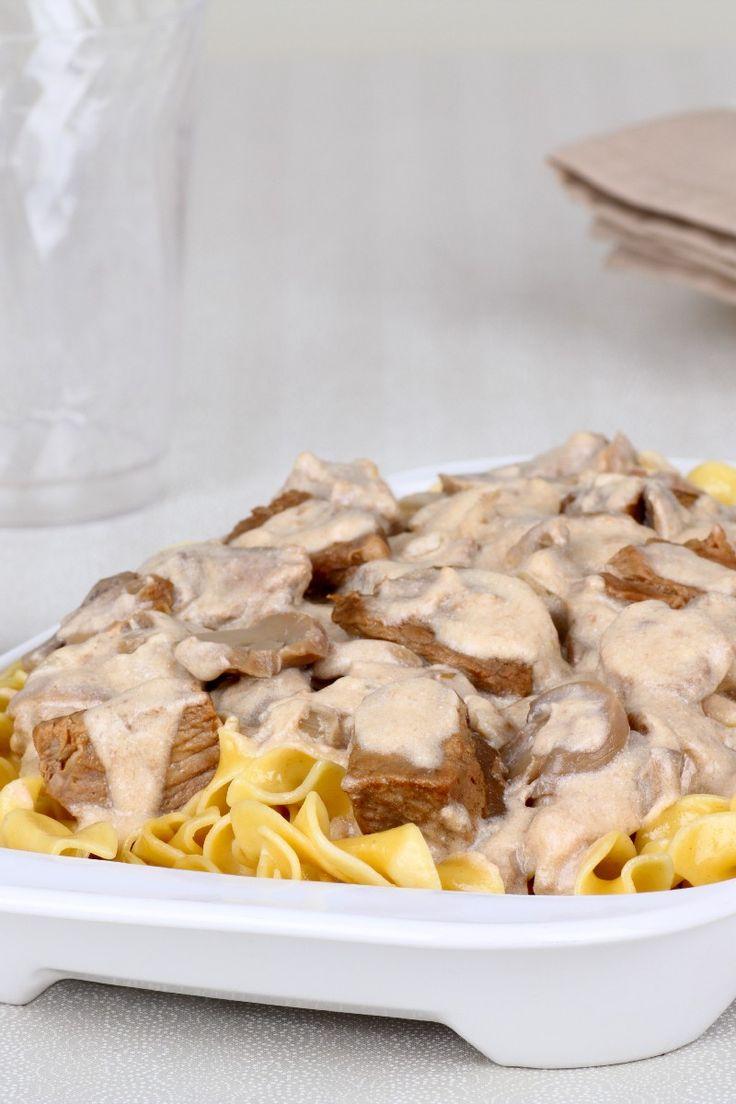 Easy and Delicious Beef Stroganoff #Recipe