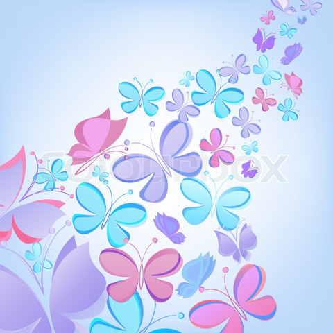 Vector of vector butterfly background  Quotes, Fascinating Pictures