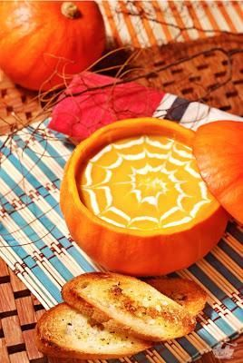 Halloween Recipes - Pumpkin Soup