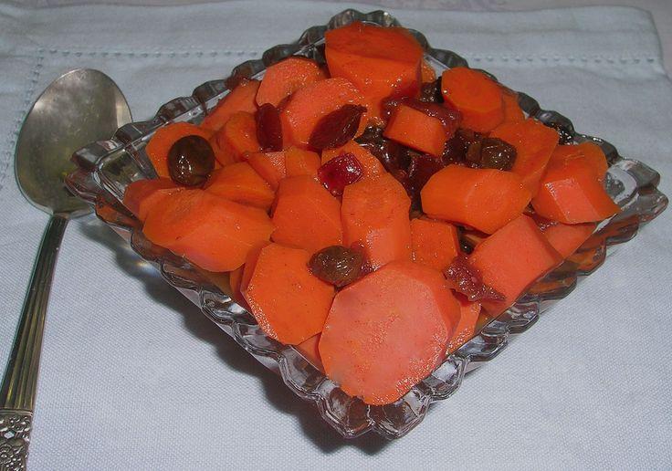 rosh hashanah carrots recipe