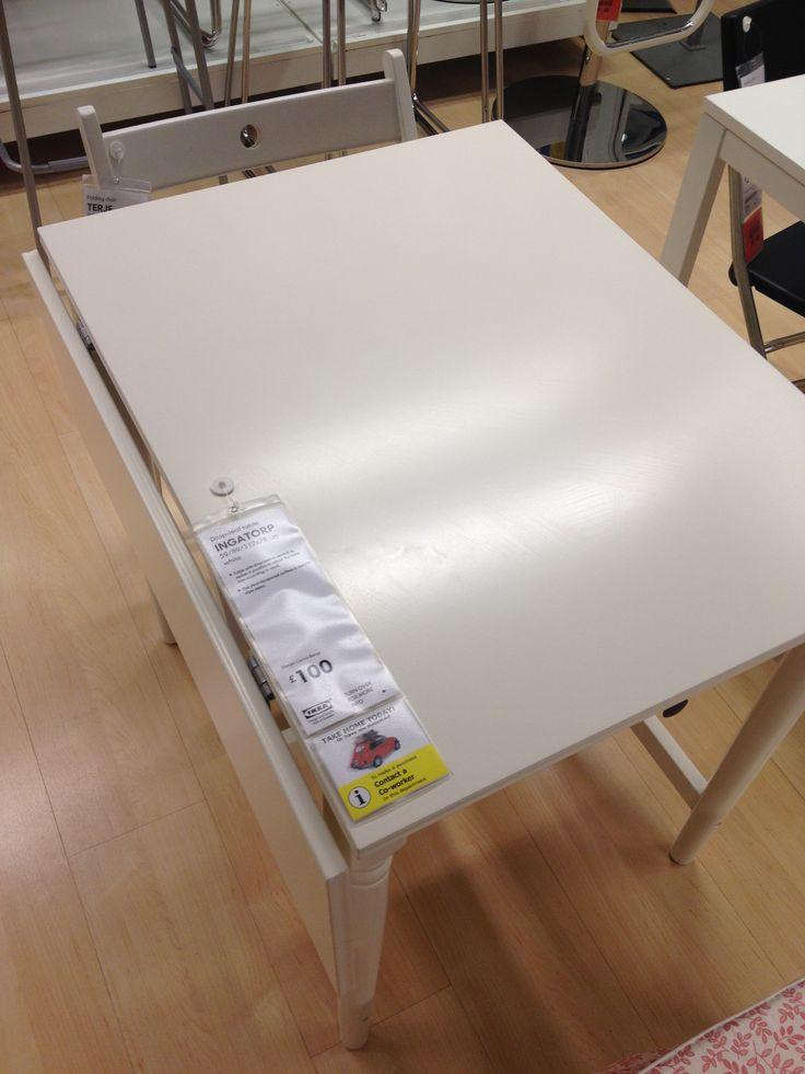 Ikea Grundtal Wall Drying Rack ~ Folding Ikea dining table  Kitchen・Dining  Pinterest