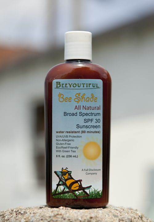 Bee Shade™ - All Natural Sunscreen