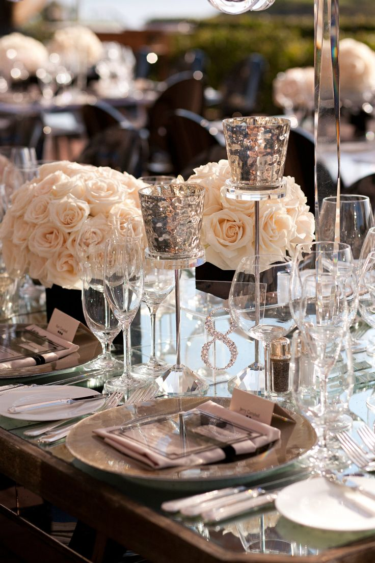 Floral Centerpiece & Table Numbers Tablescape Centerpiece www.tablescapesbydesign.com https://www.facebook.com/pages/Tablescapes-By-Design/129811416695