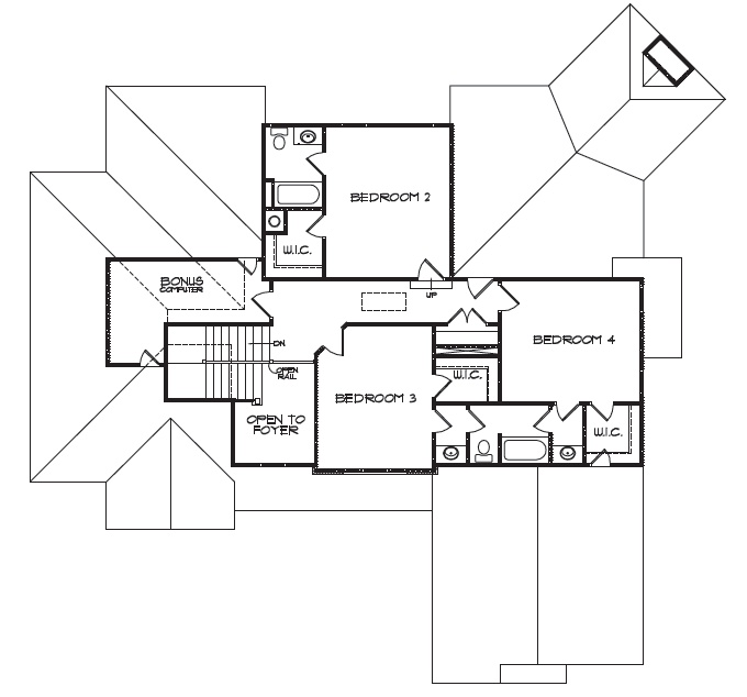 Floor plan 1 upstairs home ideas pinterest for Upstairs house plans
