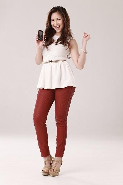 Cherry Mobile Commercial Outfit | Sarah Geronimo | Pinterest