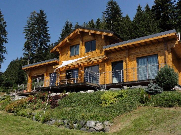 Pin by ikihirsi maisons en bois on ikihirsi maisons en for Maison en bois image
