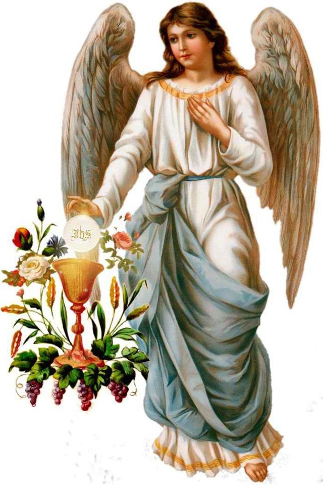 Angel and the Eucharist