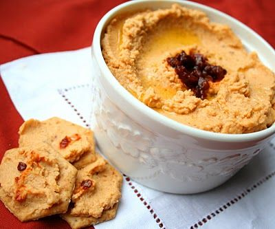 Spicy Chipotle Hummus | All Day I Dream About Food