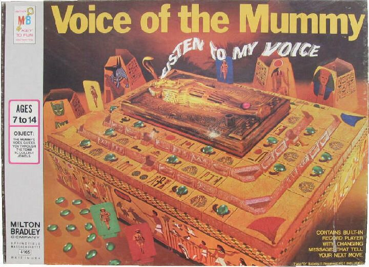 Voice Of The Mummy Board Game For Sale