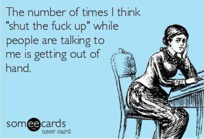 Especially recently