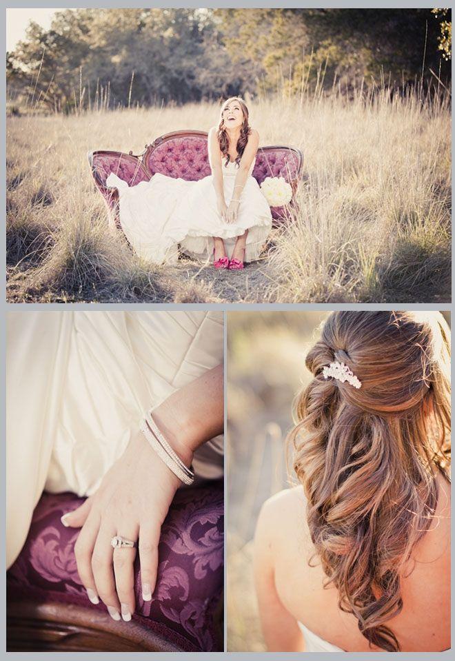 Bridal shoot ideas.