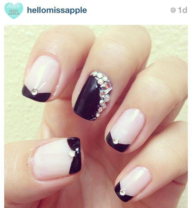Chic nails pretty girl rock pinterest - Nail art chic ...