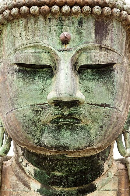 With 13.35 metres (43.8 ft) tall and about 93 tons, the Great Buddha (Daibutsu) is the second largest Buddha in Japan after the Todai-ji Great Buddha of Nara. It was supposed to be built in 1252 during the Kamakura period and it was originally inside a wooden temple which was washed away in the tsunami of September 20th, 1498 during the Muromachi period. Amida Buddha resisted the huge waves.