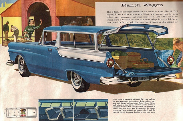 1957 ford ranch wagon meet me at the station wagon for 1957 ford 2 door ranch wagon