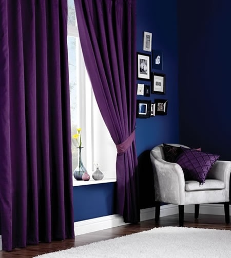 Purple Curtains For Bedroom Living Room Purple Curtains My Purple Living Room Ideas Pinterest