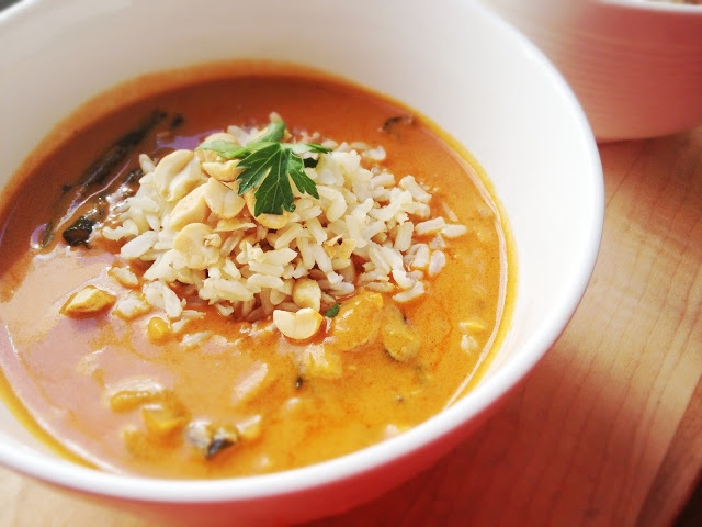 all the little things: West African Peanut Soup