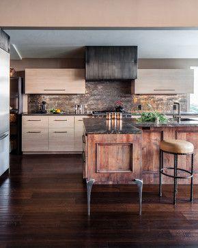 rustic backsplash tile a kitchen to love pinterest