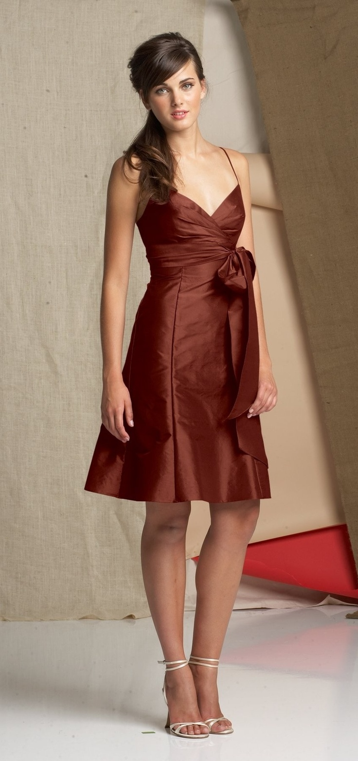 Cinnamon Short Cocktail Dresses 109