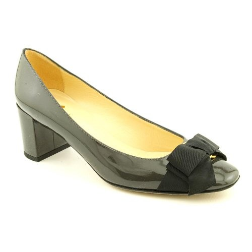 Kate Spade Dale Womens Size 8 Gray Patent Leather Pumps Heels Shoes