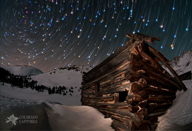 Fotos de céu estrelado