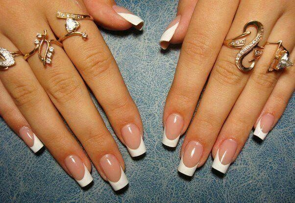 how to make perfect french nails