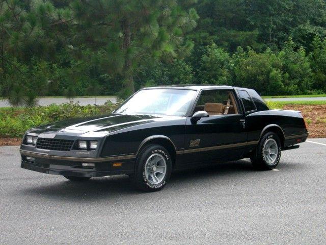 1987 Monte Carlo SS | Cars, Cars, Cars | Pinterest