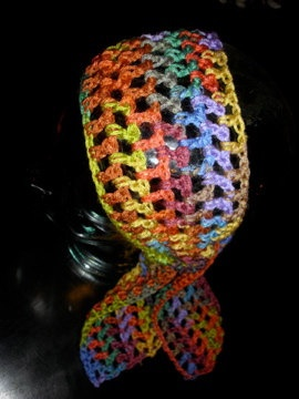 Crochet Gypsy Head Scarf