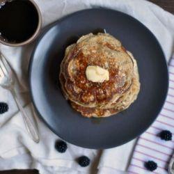 Whole Wheat Almond-Poppy Seed Pancakes | Favorite Recipes | Pinterest