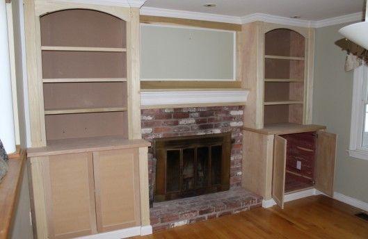 fireplace built ins decor loves pinterest