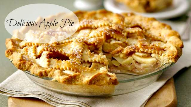 Delicious Apple Pie Recipe. Made this a week ago. It was fabulous.